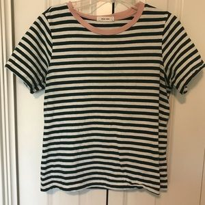 Piper and Scoot Striped Tee